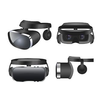 Cuffie da realtà virtuale realistiche
