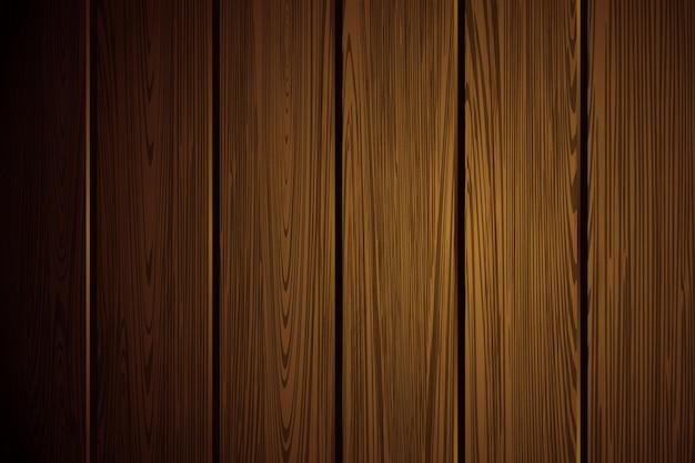 Struttura realistica del legno fondo in legno naturale marrone scuro pavimento o parete del tavolo superficie in rovere antico