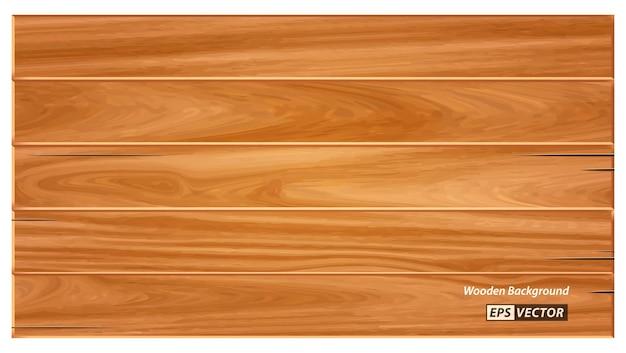 Sfondo realistico texture legno isolato o carta da parati dettagliata in stile legno