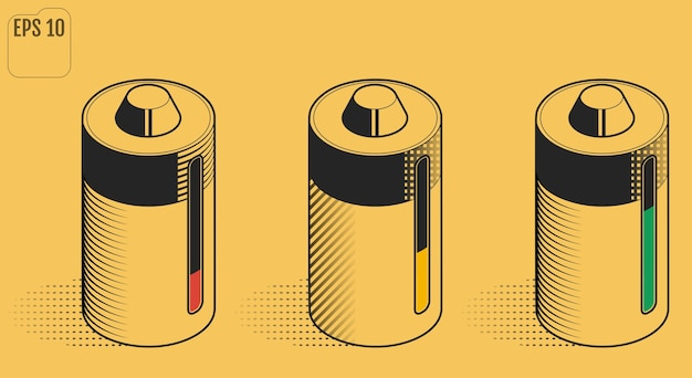 Batteria ricaricabile. batteria ambientale.