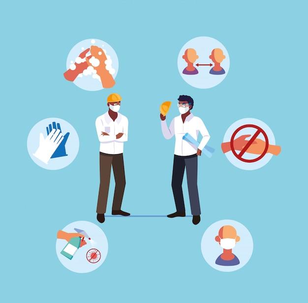 Raccomandazioni per prevenire covid negli operatori del settore
