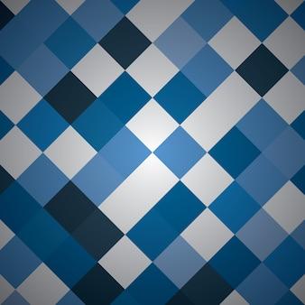 Rettangolo astratto con colore blu