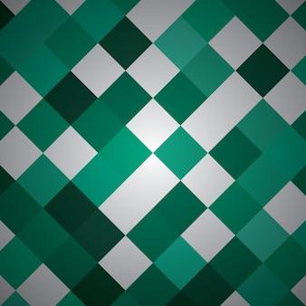 Rettangolo astratto con colore verde