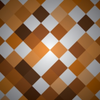 Rettangolo astratto con colore arancione