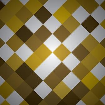 Rettangolo astratto con colore giallo