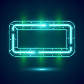 Design di banner rettangolo