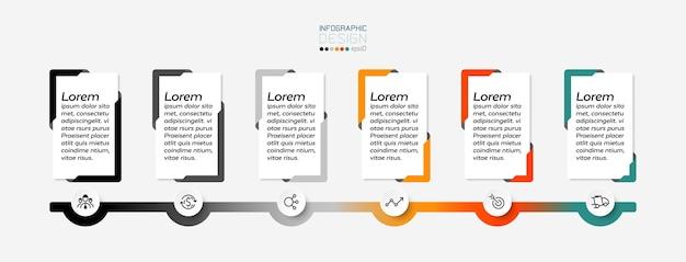 La finestra di messaggio rettangolare infografica.