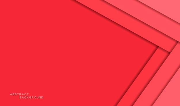 Sfondo astratto rosso con le ombre