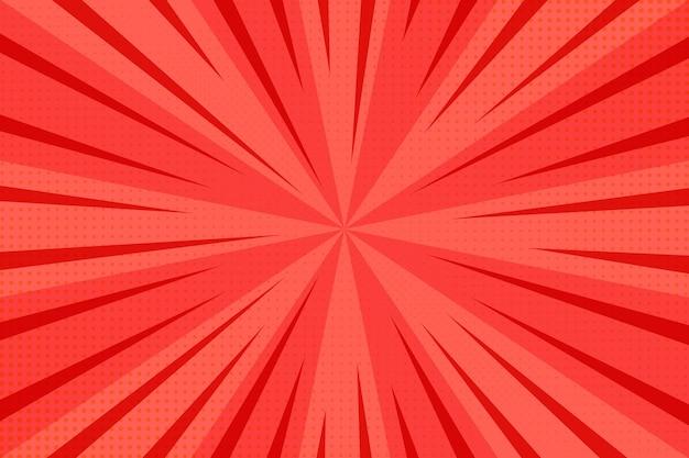 Priorità bassa di semitono astratta rossa