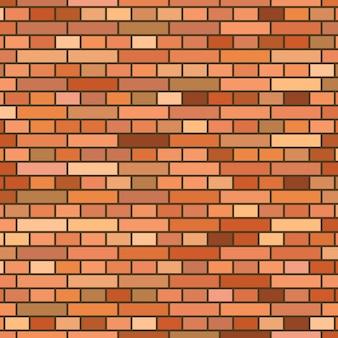 Fondo del muro di mattoni rossi. illustrazione vettoriale