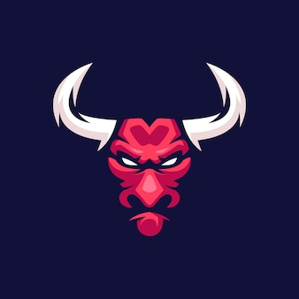 Mascotte del toro rosso