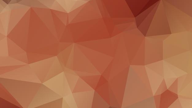 Disegno del fondo del poligono di colore rosso, stile geometrico astratto di origami