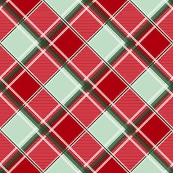 Sfondo di scacchiera diamante rosso verde