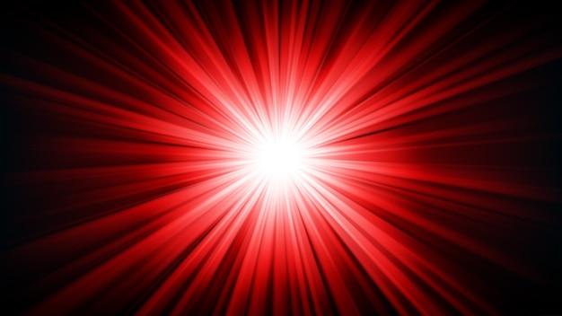 Luce rossa che splende dall'oscurità 16: 9 aspect ratio