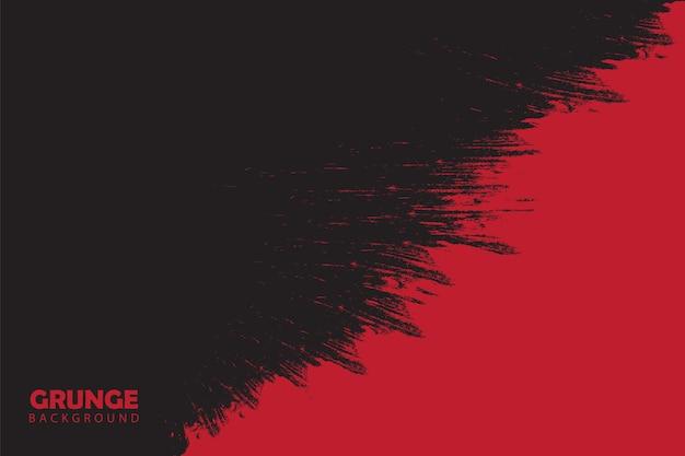 Sfondo astratto grunge verniciato rosso