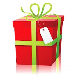 Scatola regalo rossa
