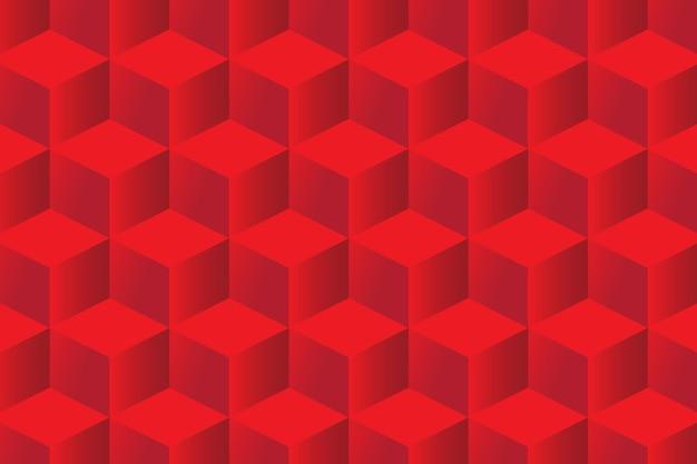 Sfondo con motivo geometrico quadrato rosso