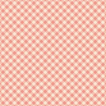 Quadrato rosso e motivo a linee