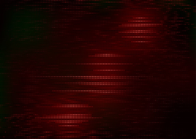 Modello quadrato rosso su sfondo scuro