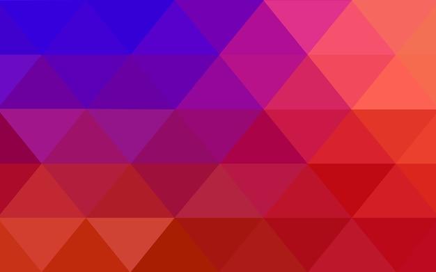 Vettore rosso sfondo di cristallo basso poli