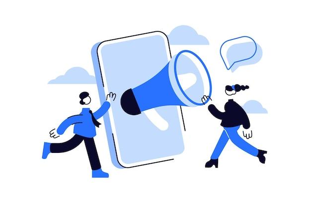 Programma di marketing di riferimento e metodo di promozione online