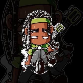 Grafica reggae