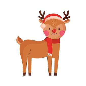 Cartone animato di renne