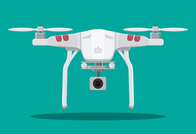 Drone aereo telecomandato.