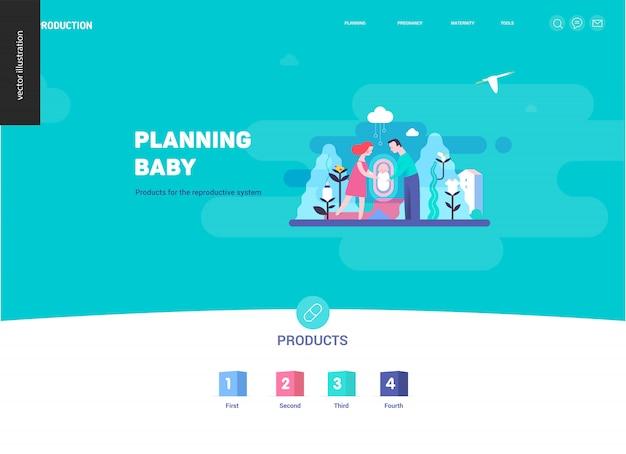 Riproduzione - modello di pagina web