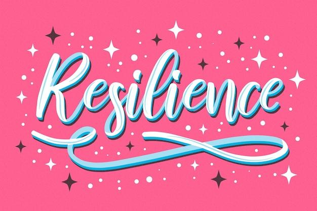 Lettering di resilienza