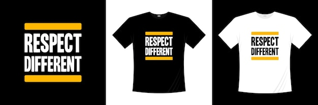 Rispetta il diverso design della t-shirt tipografica. dire, frase, cita la maglietta.