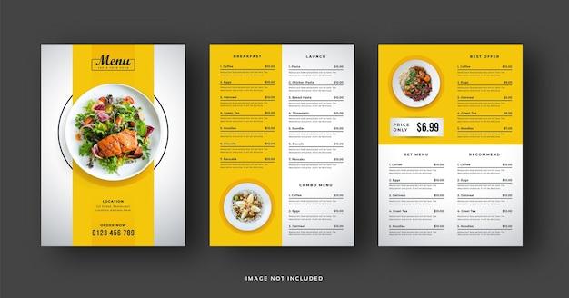 Menu e volantino del ristorante