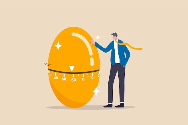 Illustrazione di concetto di ira fondo pensione di pensionamento