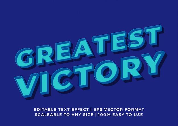 Retro effetto del testo del contrassegno di promozione 3d
