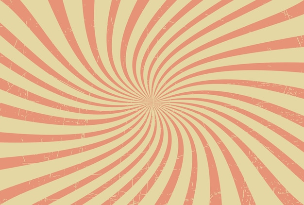 Retro priorità bassa dello sprazzo di sole swirly