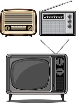 Televisione e radio retrò