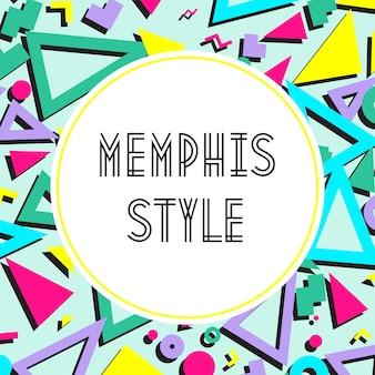 Fondo del modello astratto di stile di moda retrò vintage anni '80 o '90. ottimo per la progettazione di tessuti, carta da imballaggio e sfondi per siti web. illustrazione vettoriale.