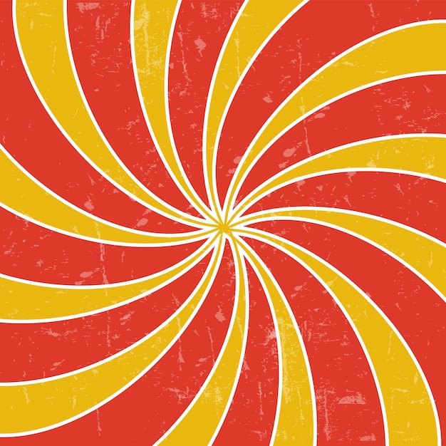 Retro vintage grunge ipnotico background.vector illustration
