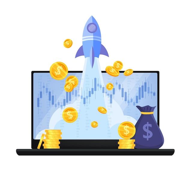 Aumento delle entrate, crescita del reddito o ritorno sul denaro investito