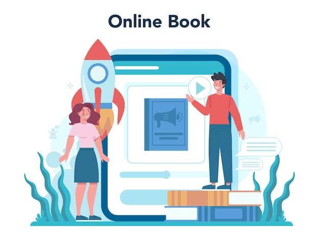 Piattaforma o servizio online specializzato in retorica o elocuzione