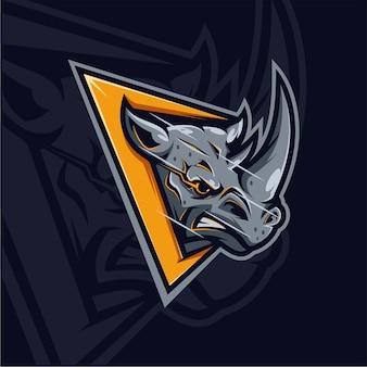 Design del logo rhino