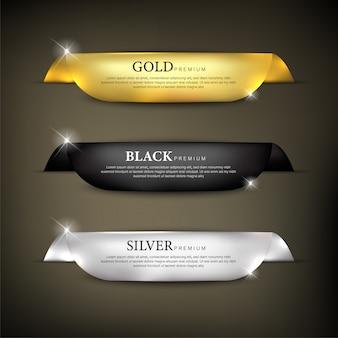 Set nastri colore premium