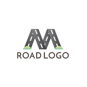 Modello di logo stradale