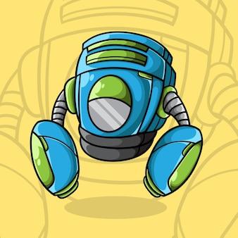 Illustrazione vettoriale del robot