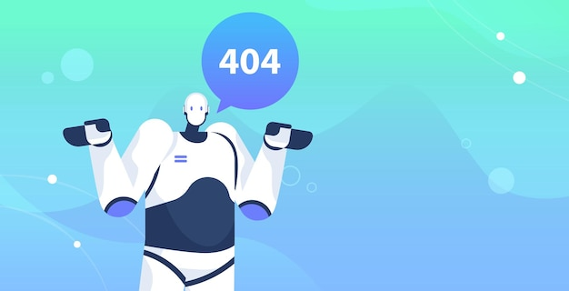 Robot con pagina non trovata errore 404