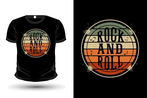 Maglietta rock and roll