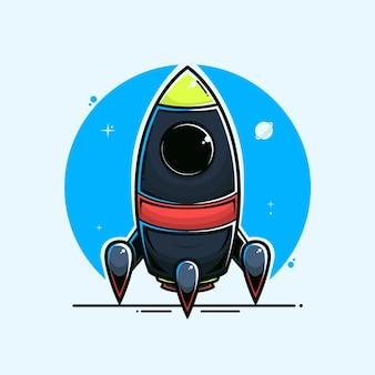 Illustrazione del razzo.