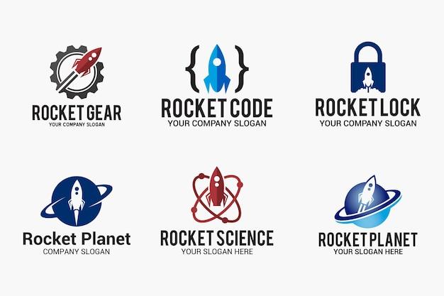 Disegno del logo del razzo