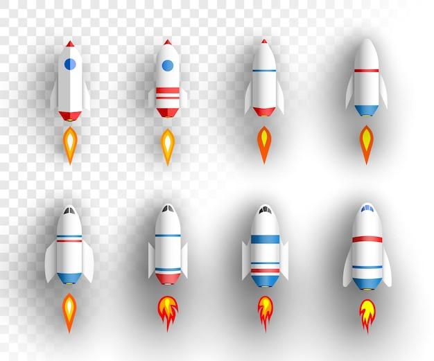 Collezione di razzi