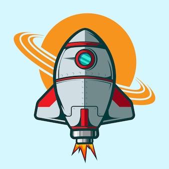 Illustrazione rocketship